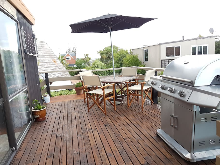 BBQ for those beautiful sunny afternoons.