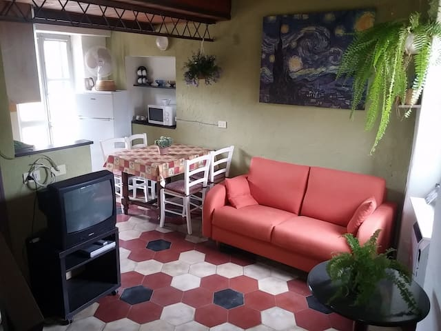 BYke kNIGHT- Country cozy loft in Finale Ligure - Finale Ligure - Apartamento