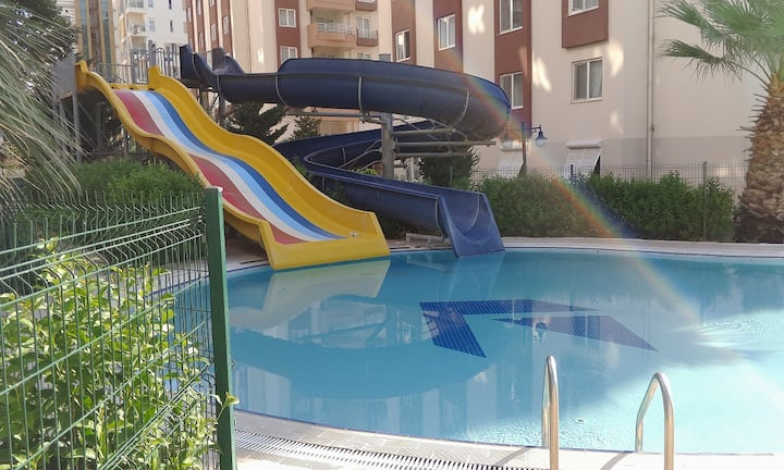 2 BIG SWIMMING POOLS, AQUAPARK, TENNIS, 5*, CLEAN