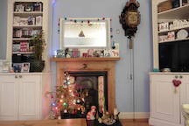 A Single bedroom in an artistic house & tours - Cheltenham - Bed & Breakfast