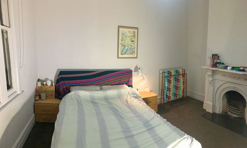 Downstairs Bedroom 1 w/ Aircon & Heater