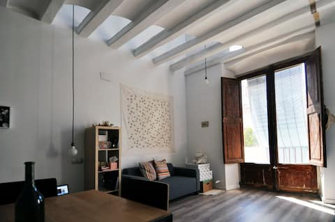 Luminoso apartamento en el centro