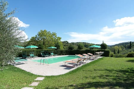 Vintage Holiday Home in Montaione with Pool