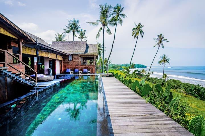 Tao Villa BeachFront, Balian Beach
