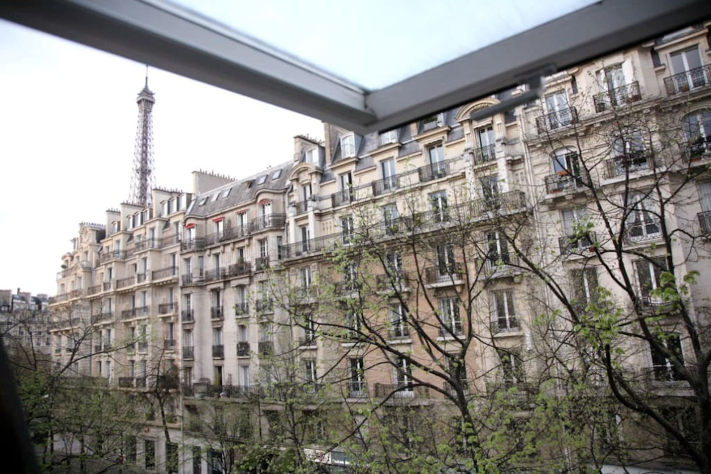 Vue de l'appartement / View from the flat