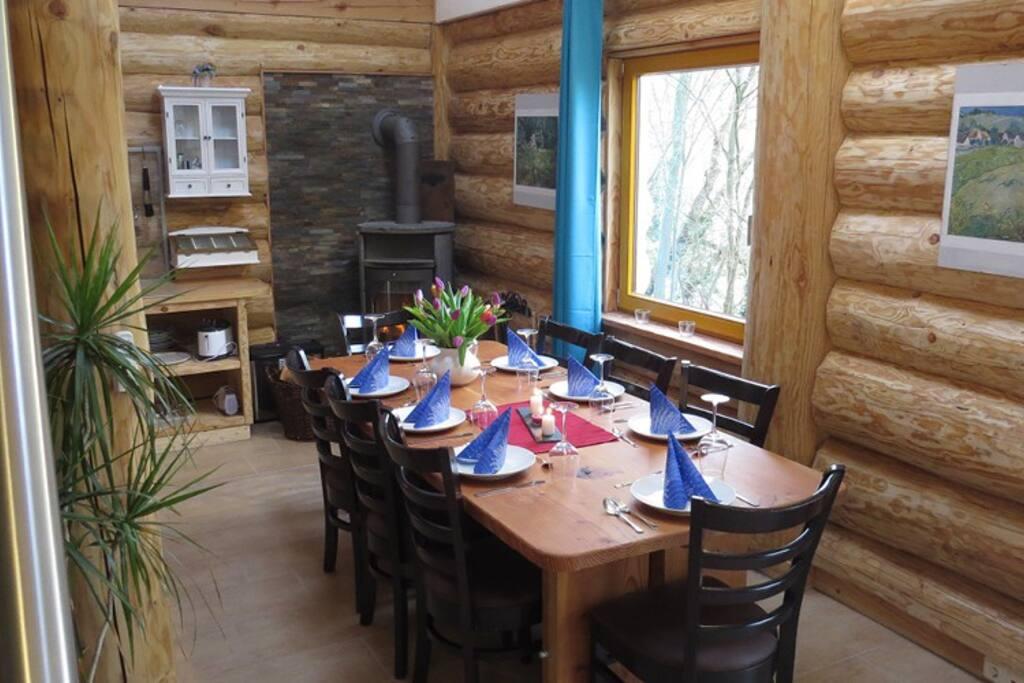 Fledermaus2 / Wohnbereich mit Küche