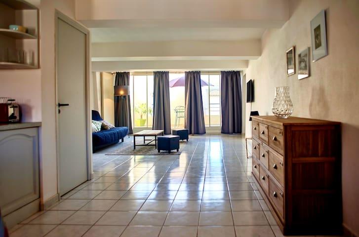 Appartement T2 Dans maison bourgeoise - Nissan-lez-Enserune - Apartamento
