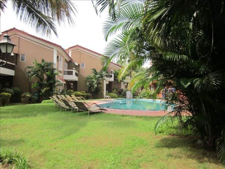 LOVELY VILLA WITH SHARED POOL IN CANDOLIM