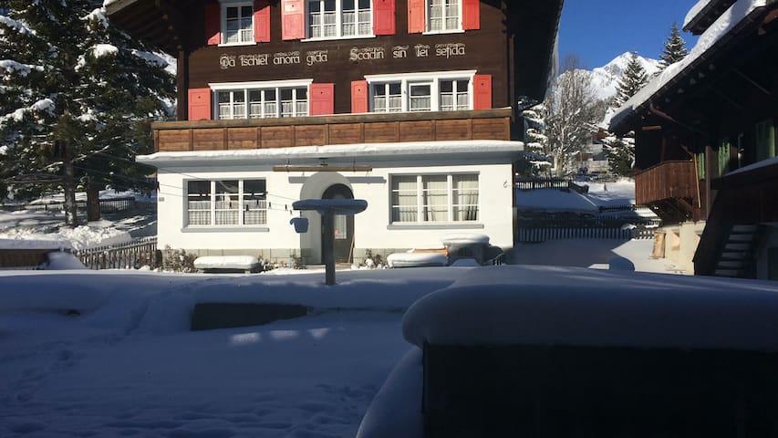 altwohnung skiarena sedrun/disentis/andermatt