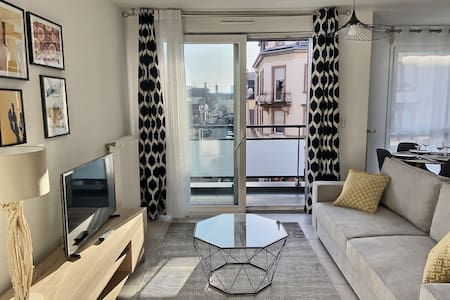 Modern 2-room apartment 50 m² 5 minutes from Basel