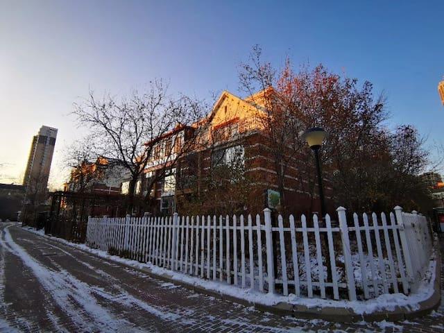 冰雪大世界欧式别墅
