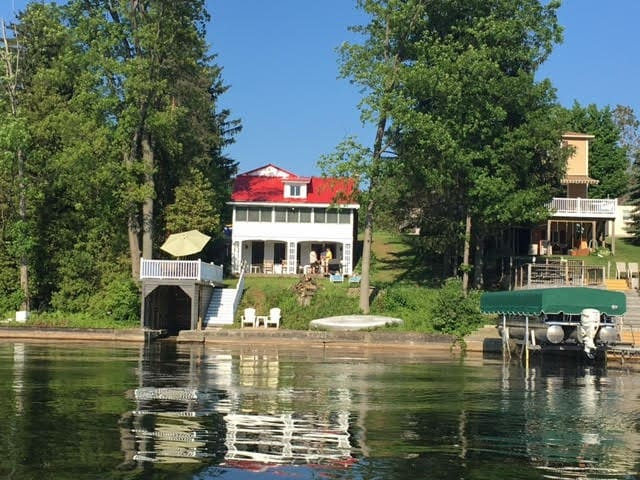 Red Roof Camp on Otisco Lake