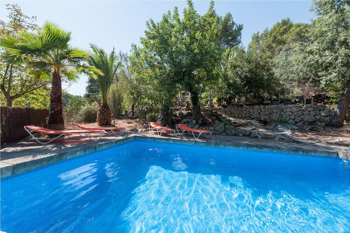 CAN PASTERA - Villa with private pool in Campanet. Free WiFi