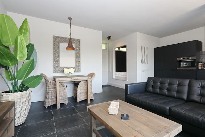 Beachloft direct aan de duinen