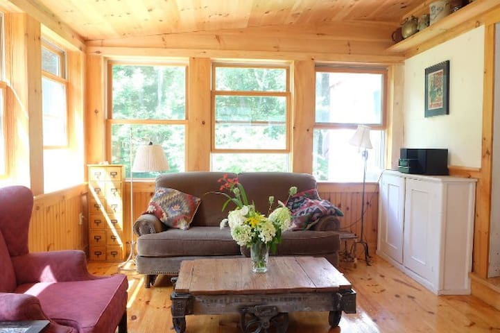 Rustic Cabin on 4 Quiet Acres near Berkshires - Chatham - Casa