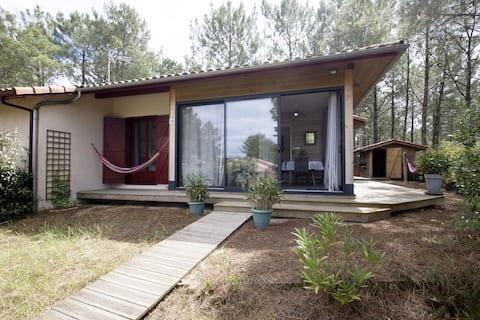 漂亮的房子木质露台40平方米,提供无线网络