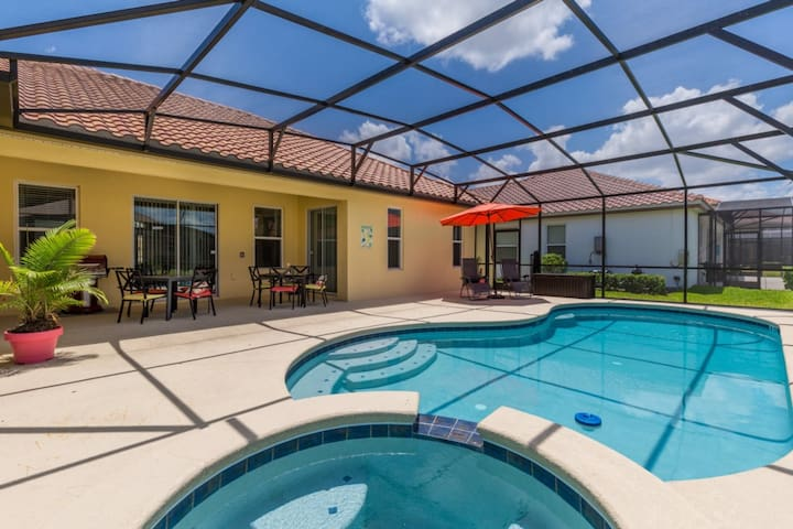 4B/3B/ONE FLOOR HOME/ POOL/SPA/SOLTERRA (4148 OD)