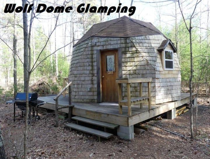 Wolf Dome at the Adirondack Wildlife Refuge