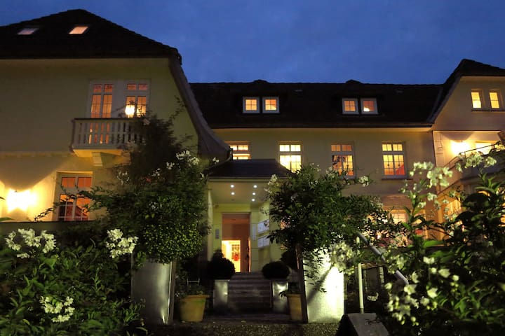 Apartment in the Weser Uplands in a villa with a magnificent view