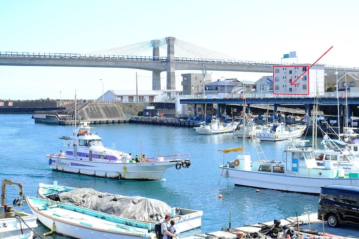 箱根&海&海鮮グルメを満喫 小田原港目の前 最大4名 早川駅徒歩2分