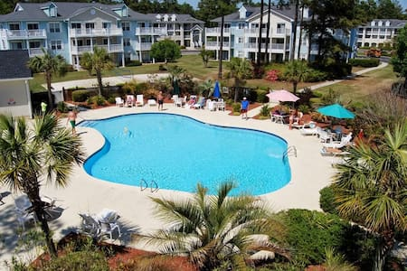 Golf & Lagoon Views! Brunswick Plantation Condo! - Ortak mülk