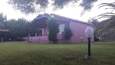 Pink Summer House, Paralia Myrtofytou