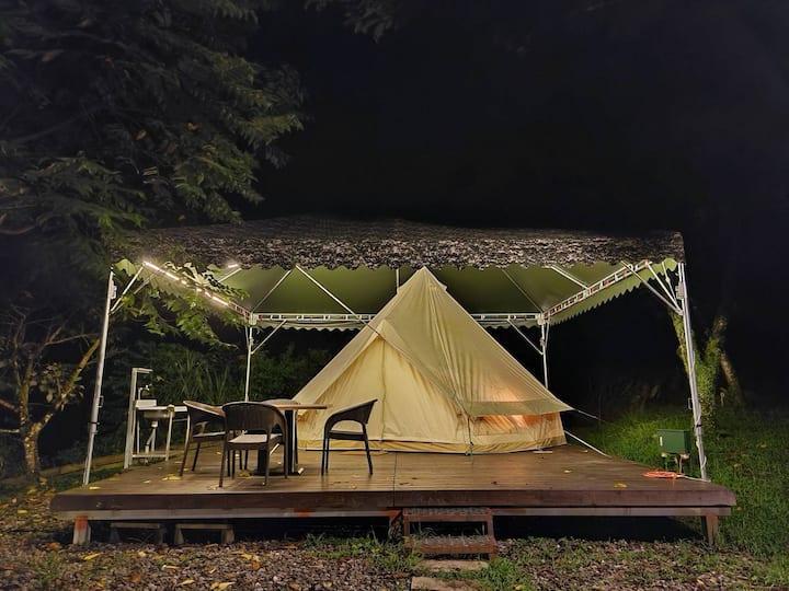 免裝備 豪華露營帳篷(不指定房型)