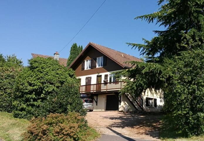Chalet au cœur des Vosges. Appartement 1 - 6 pers