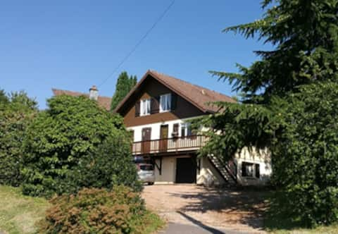 Chalet in the heart of the Vosges. Apartment 1 - 6 pers