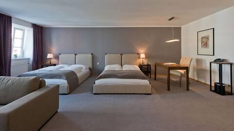 Wohnung 50 qm - Geräumig, wohnlich, praktisch.