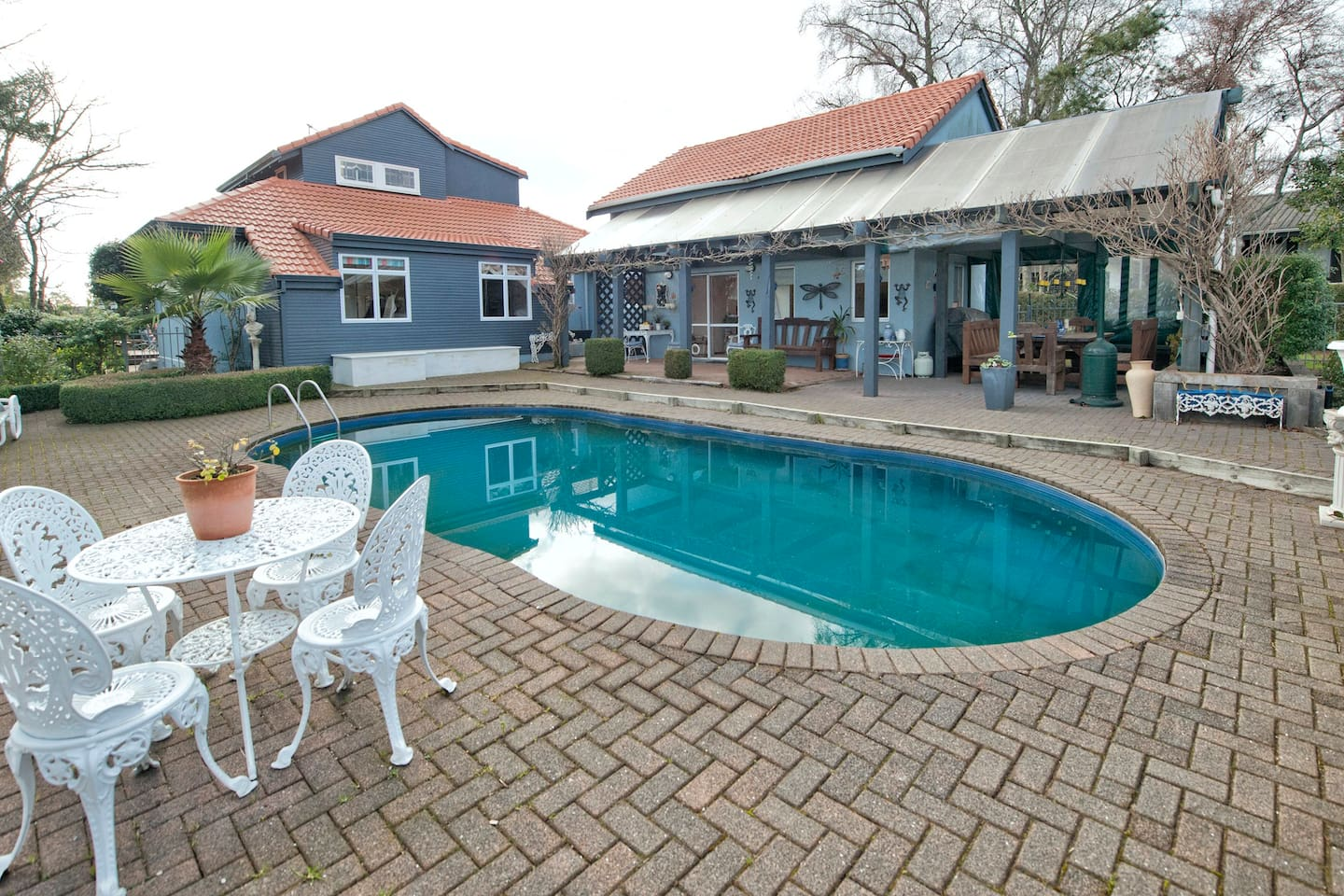 Your accommodation next to the Swimming pool area.