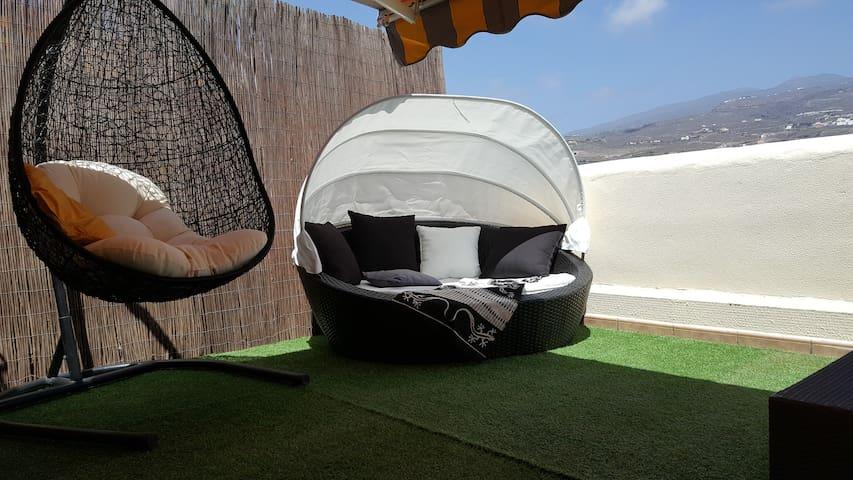 Luxury Tenerife Adeje Paraiso terrace pool Wi-Fi