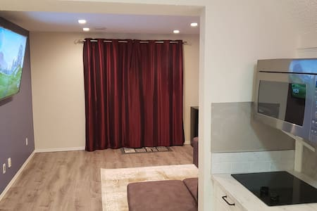 Furnished basement suite, full walkout