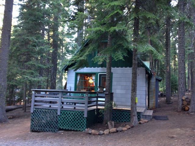 Hayden cabin at lake of the woods cabins for rent in for Cabin in the woods oregon