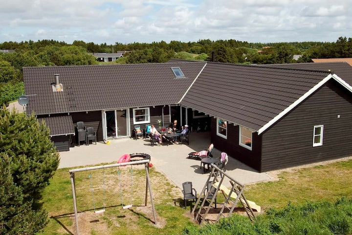 Spacious Holiday Home in Vejers Strand with Pool