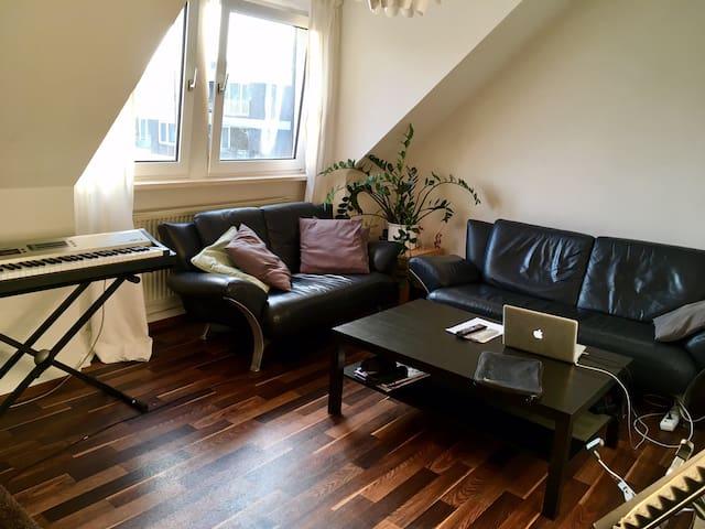 Ruhiges, schönes Zimmer, im Zentrum - Osnabrück - Apartamento