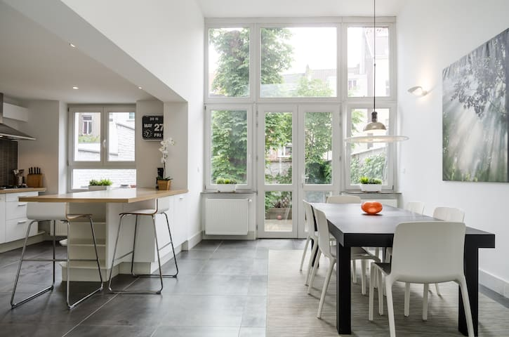 Splendid duplex in Brussels city - Saint-Josse-ten-Noode - Apartment