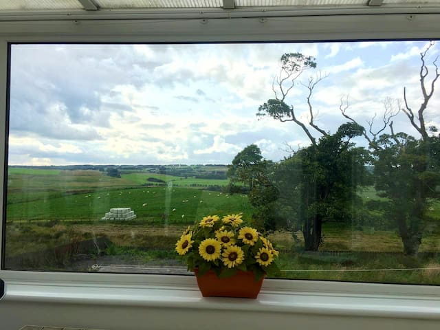Cosy Cottage close to Edinburgh Glasgow & Stirling