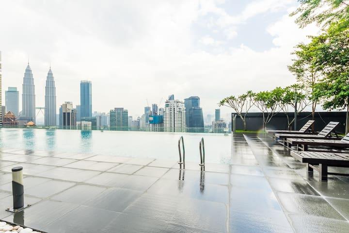 Marvellous KLCC . Bukit Bintang 5 Star Suites