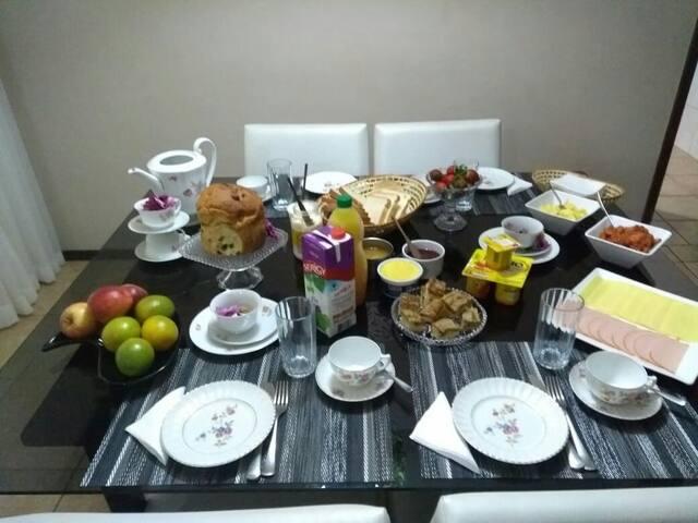 Venha saborear o nosso café da manhã!!!