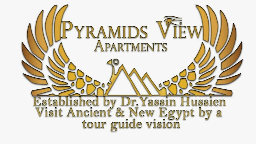 THE THREE  PYRAMIDS VIEW  NO(3 ) - gizah