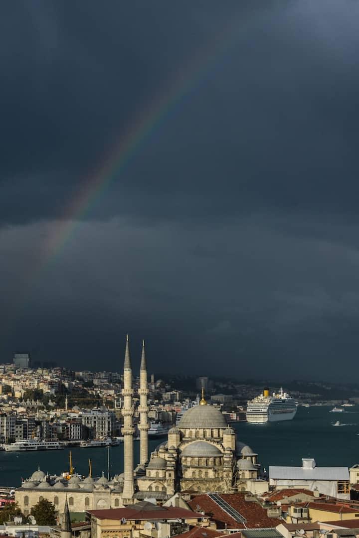 Istanbul w/ rainbow