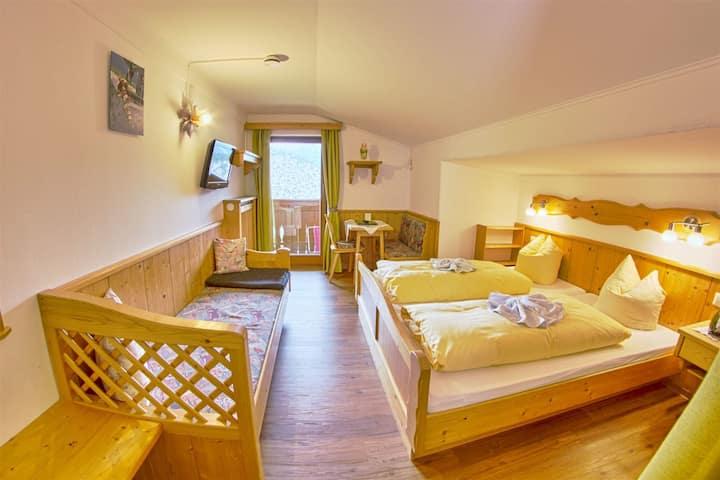 Irxnerhof  Double room - with balcony