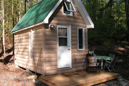 Log Bunkie w/ Loft, Walk to Bon Echo Park