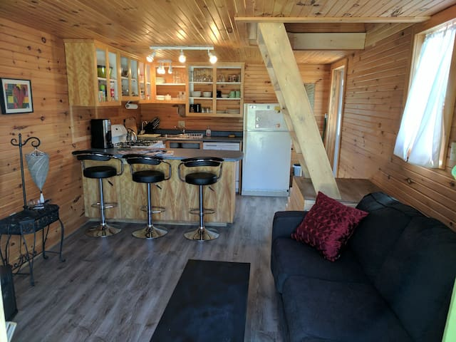 Lakeside Beach Cabin with Loft