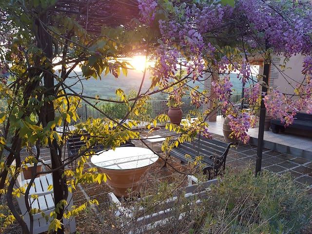 Villa con uso esclusivo di piscina e idromassaggio - Manciano - Huis