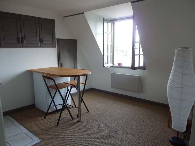 Studio meublé avec vue imprenable proche d'Angers - Grez-Neuville - Byt