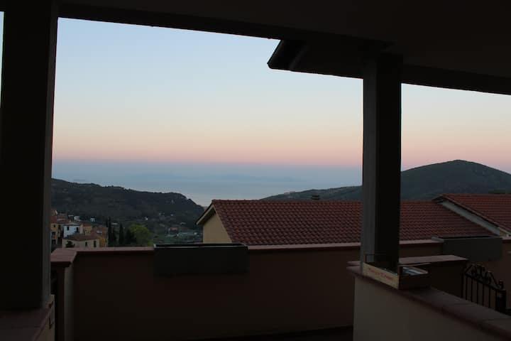 Appartamento con veranda privata a Rio nell'Elba