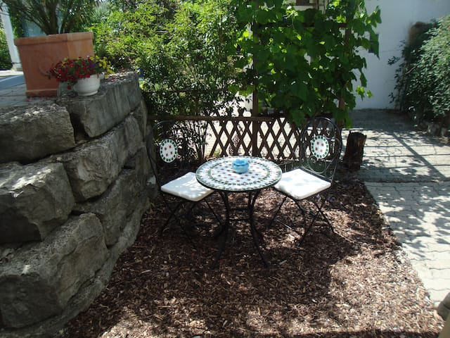 Helles Studio mit Gartenplatz in ruhigem Quartier