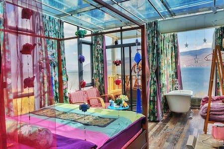 大理澜257精品海景客栈 270度顶级玻璃星空海景房 - Dali - Boutique-hôtel